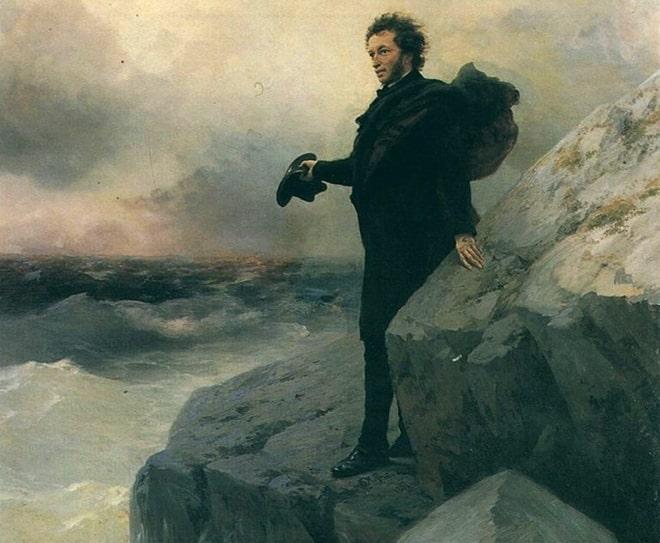 Александр Пушкин у Черного моря