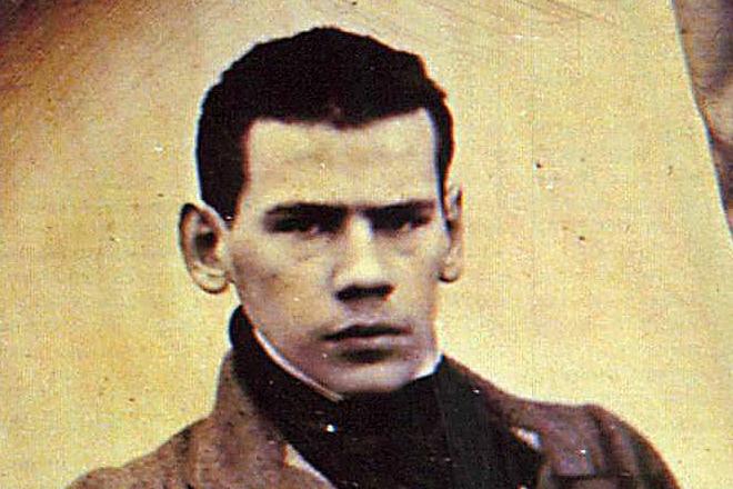 Лев Толстой в юности