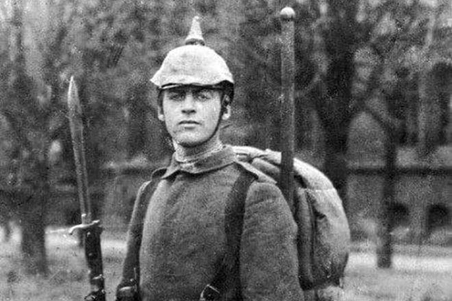 Эрих Мария Ремарк на войне