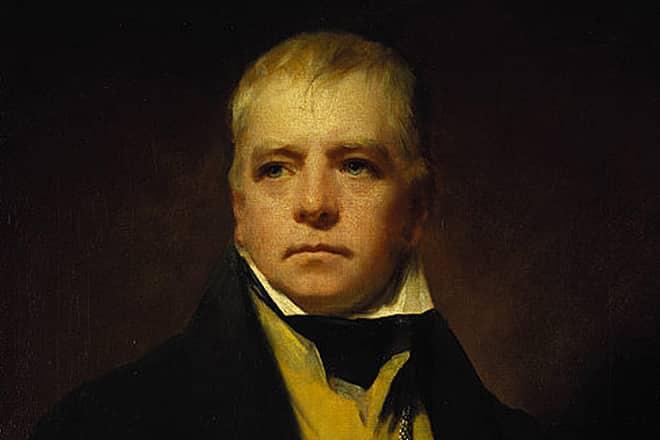Вальтер Скотт портрет