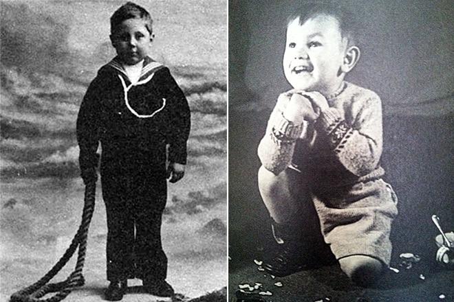 Джордж Оруэлл в детстве