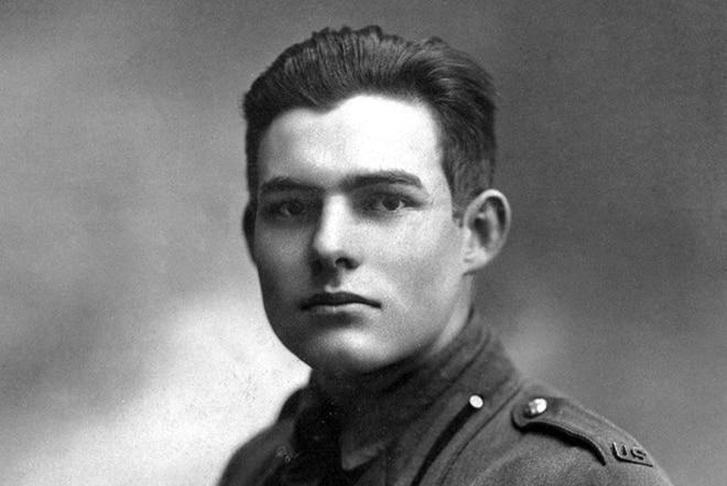 Эрнест Хемингуэй в армии