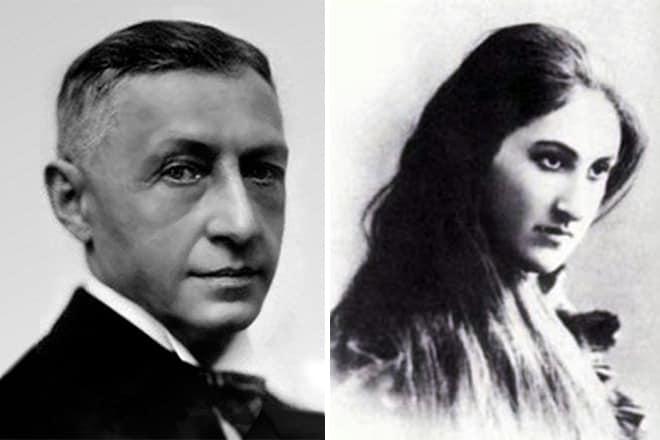Иван Бунин и Анна Цакни