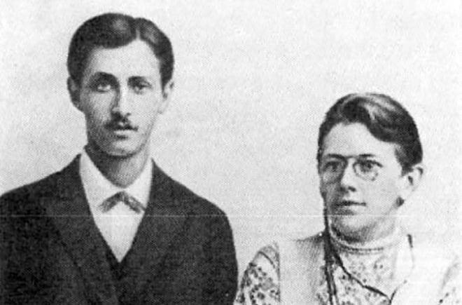 Иван Бунин и Варвара Пащенко