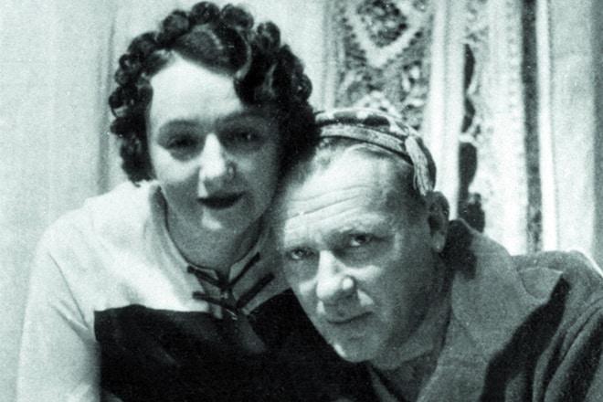 Михаил Булгаков и Елена Шиловская