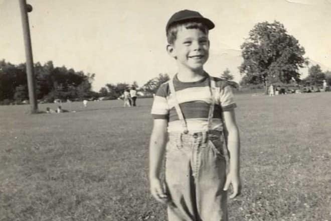Стивен Кинг в детстве