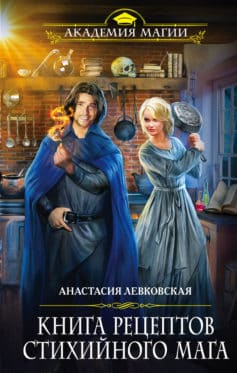 «Книга рецептов стихийного мага» Анастасия Левковская