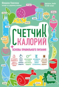 «Счетчик калорий. Основы правильного питания» Юлианна Плискина