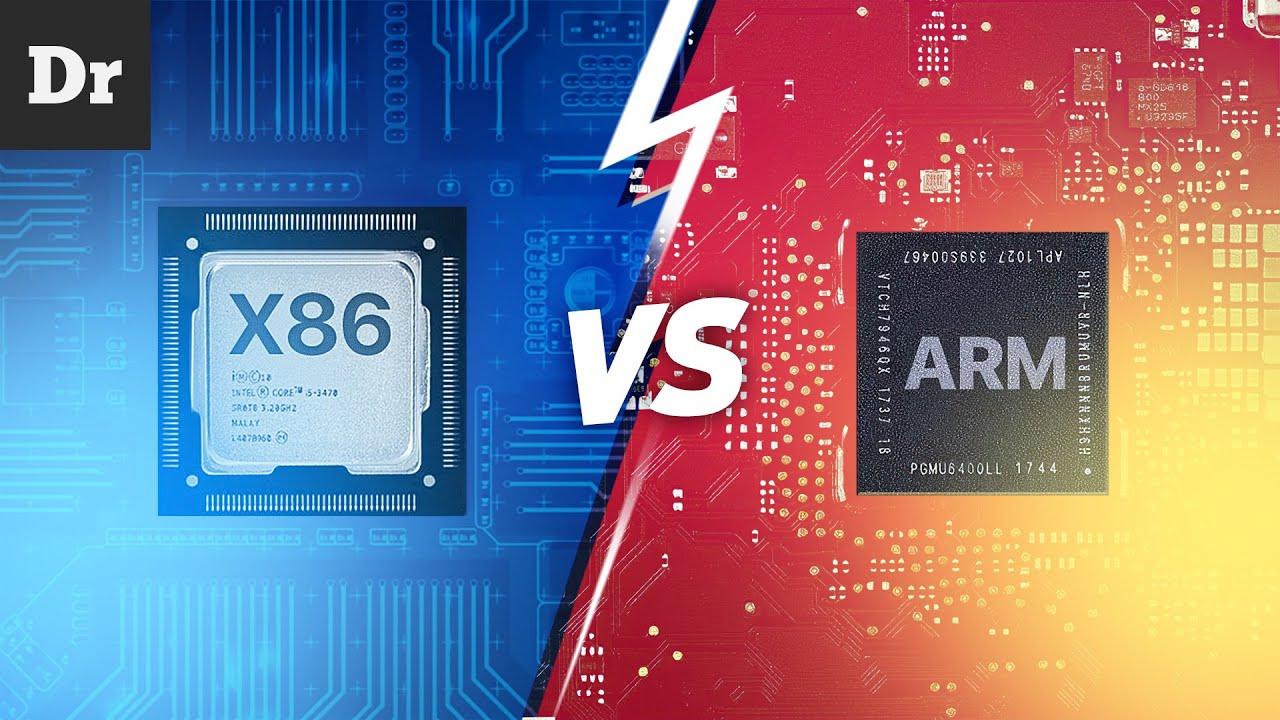 Отличие ARM от x86
